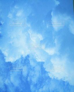 青空の雲の写真・画像素材[2328555]