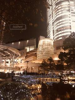 夜の都市の眺めの写真・画像素材[2095323]