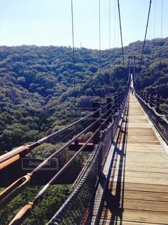 吊り橋の写真・画像素材[2082590]