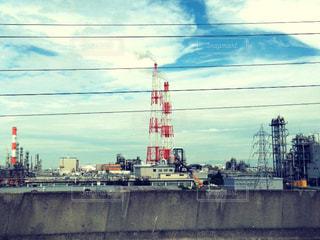 工場と空の写真・画像素材[2082684]