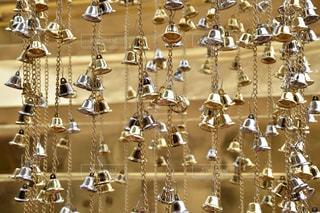 チェンマイの寺院にての写真・画像素材[2085017]