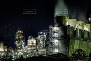四日市工場夜景の写真・画像素材[2083539]