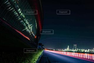 四日市工場夜景の写真・画像素材[2083549]