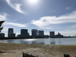 お台場の海岸の写真・画像素材[2802445]