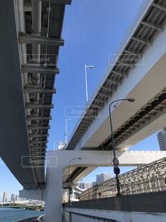 レインボーブリッジの橋下の写真・画像素材[2802449]