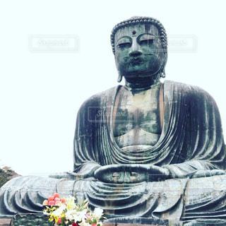 鎌倉大仏の写真・画像素材[2086464]