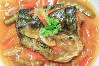 鯖の甘酢あんかけの写真・画像素材[2108138]