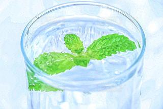 ミント水の写真・画像素材[2386784]