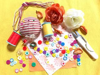 裁縫道具の写真・画像素材[2392474]