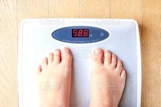 体重を計るの写真・画像素材[2682684]