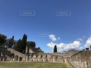 イタリアのポンペイ遺跡の写真・画像素材[2088112]