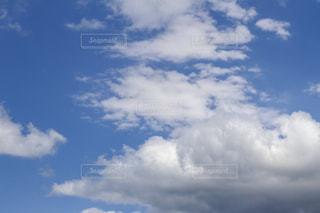 平川市から見た青空の写真・画像素材[2161713]