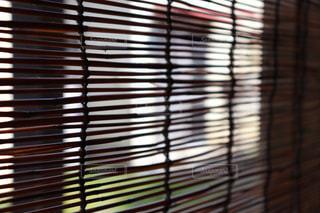 家の玄関に下がっているすだれの写真・画像素材[2328411]