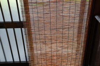 家の玄関に下がっている簾の写真・画像素材[2328649]