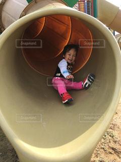 滑り台大好きの写真・画像素材[2096711]
