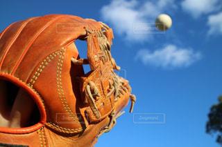 空,スポーツ,ボール,野球,青春,クラブ,部活,グローブ,ソフトボール