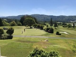 久々のゴルフ 天気は最高の写真・画像素材[2148013]