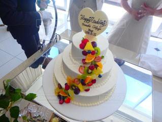 ウェディングケーキの写真・画像素材[2091154]