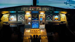ジェット旅客機コックぴっとの写真・画像素材[2105301]