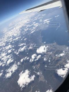 飛行機からの眺めの写真・画像素材[2114485]