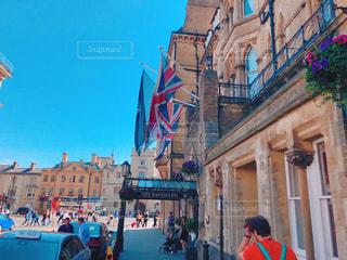 イギリスの街並みの写真・画像素材[2115964]