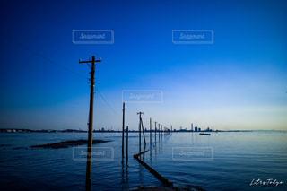 木更津の江川海岸の写真・画像素材[2113086]
