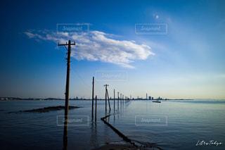 木更津の江川海岸の写真・画像素材[2113088]