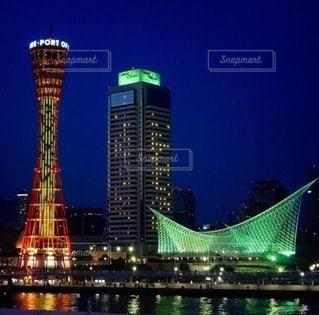 神戸の夜景の写真・画像素材[80109]