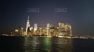 ニューヨークの夜景の写真・画像素材[2780918]