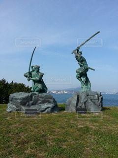 巌流島の戦いの写真・画像素材[2780946]