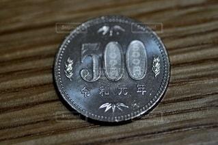 500円硬貨の写真・画像素材[2812099]