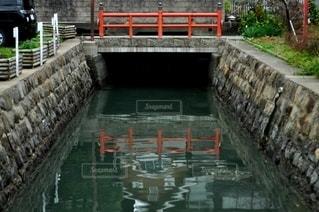 川と橋の写真・画像素材[2864880]