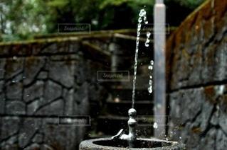 水の噴水の写真・画像素材[2864885]