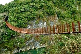 吊り橋の写真・画像素材[2867245]