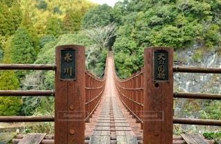 吊り橋の写真・画像素材[2867246]