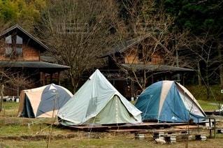 キャンプテントの写真・画像素材[2867255]