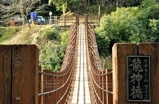 つり橋の写真・画像素材[2867258]
