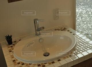 洗面台の写真・画像素材[2885423]