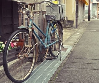 自転車の写真・画像素材[2898936]