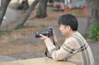 カメラ男の写真・画像素材[2917448]