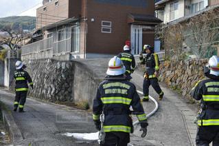 消防隊員の写真・画像素材[2930115]