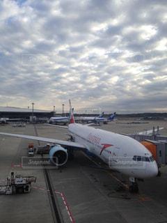 成田空港にての写真・画像素材[2098979]