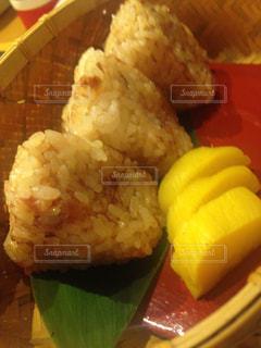 食べ物のクローズアップの写真・画像素材[2103981]