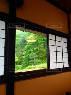 障子窓の写真・画像素材[2146242]