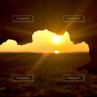 日没の写真・画像素材[2103133]
