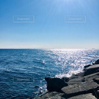 海の隣の水域の写真・画像素材[2128754]