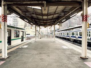 駅の閉鎖の写真・画像素材[2266639]