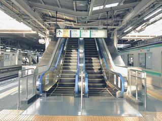 駅の地下鉄の列車の写真・画像素材[2266640]
