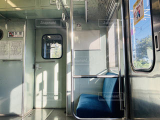 電車のイスの写真・画像素材[2460152]