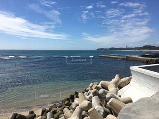 いわきの海、きれいですね。の写真・画像素材[2119658]